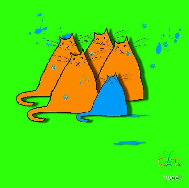 cats by tweek