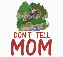 Don't Tell MOM Bike Baby Tee