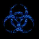 Binary Biohazard (Blue) by GrimDork