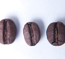 Coffee beans, food photography by SammyPhoto