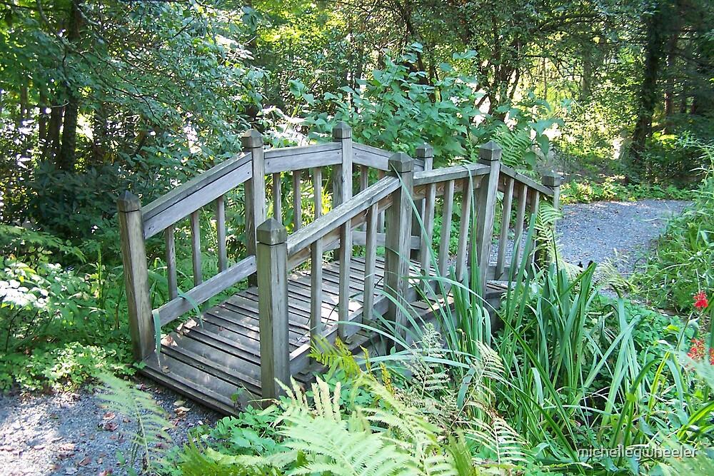 Garden Bridge by michellegwheeler