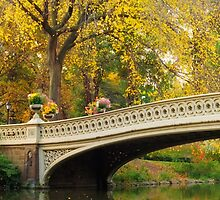 Bow Bridge After Sunrise by Randy  Le'Moine