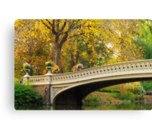 Bow Bridge After Sunrise Canvas Print