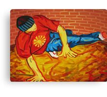 Breakdancer in New Jersey Canvas Print