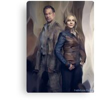 Nolan and Amanda Defiance Season 1 Canvas Print