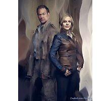 Nolan and Amanda Defiance Season 1 Photographic Print