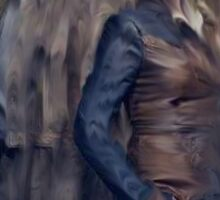 Nolan and Amanda Defiance Season 1 Sticker