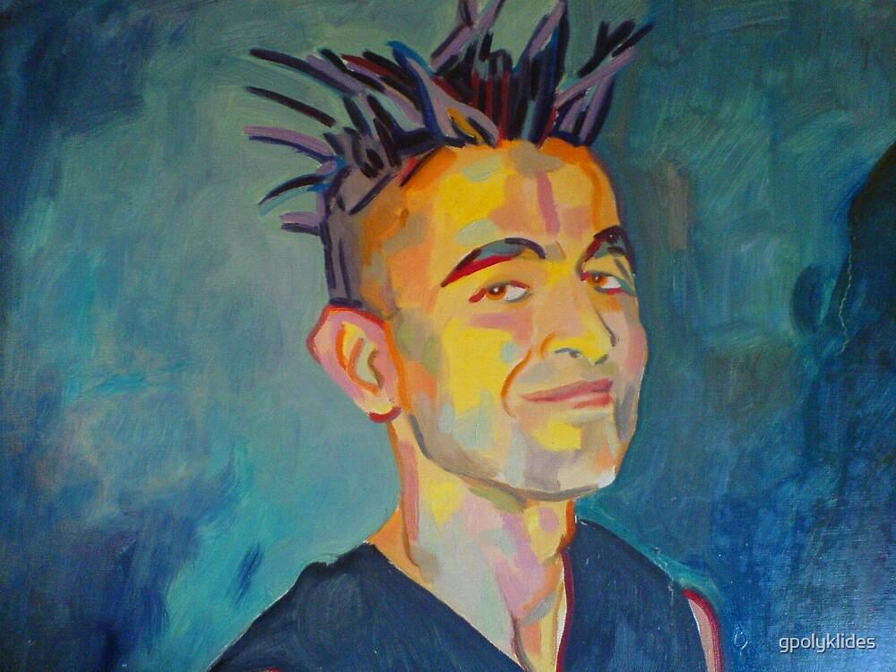 Punk portrait by gpolyklides