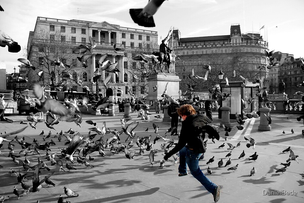 Trafalga Square by DanielBede