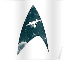Space the final frontier Poster