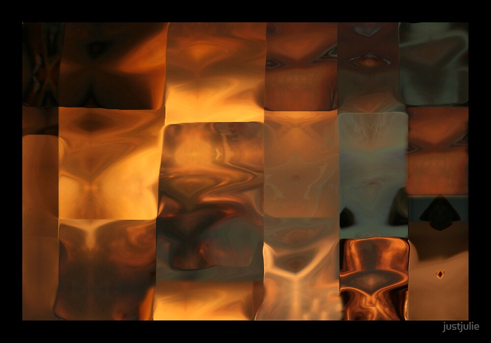 Copper Patchwork by justjulie