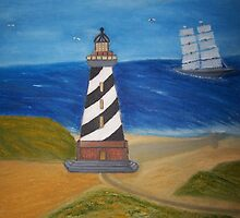 The Lighthouse by michellegwheeler