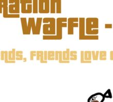 Operation Waffleo Sticker
