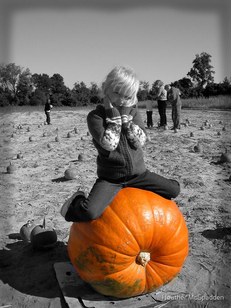 """"""" I found my pumpkin"""" by Heather McSpadden"""