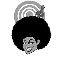 AfroGirl Photographic Print