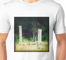 Rusty Barbed Wire Fence Unisex T-Shirt