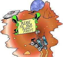 Alien Eviction by Skree