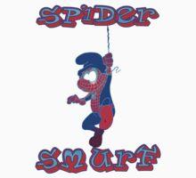 Spider Smurf Blue Kids Clothes