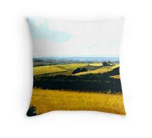 Derbyshire Fields Throw Pillow