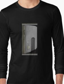 Glitch Original Homes signpost asset elevator tower Long Sleeve T-Shirt