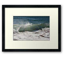 Wavebreak #3 Framed Print