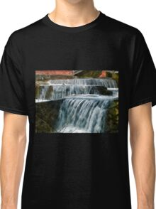 Beautiful Waterfall - falling water Classic T-Shirt