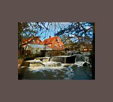 Beautiful Waterfall Country Landscape Denmark Unisex T-Shirt