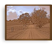 """Don't fence me in"" Canvas Print"