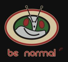 Be Normal: Common Rider Baby Tee