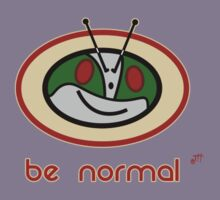 Be Normal: Common Rider Kids Tee