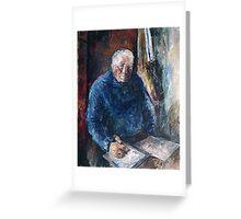 Portrait ( Tevo portretas) Greeting Card