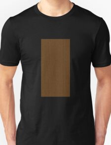 Glitch Original Homes wallpaper back boghouse brown T-Shirt