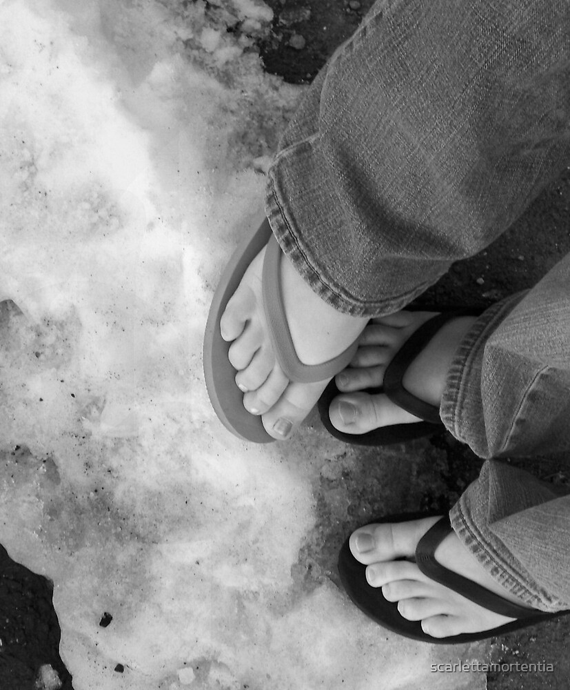 Cold Feet by scarlettamortentia