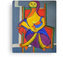 My Apologies to Picasso Canvas Print