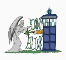 Don't Blink Tardis Kids Clothes