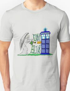 Don't Blink Tardis Unisex T-Shirt