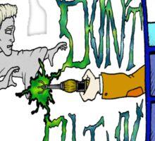 Don't Blink Tardis Sticker