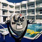 Hotel pool, LA by laurencedodd