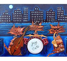 Jazz Cats Photographic Print