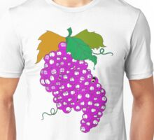 Grapes of Wine Madness Unisex T-Shirt