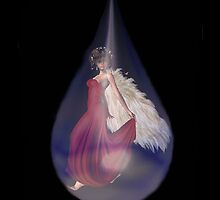 Angel in a Tear by tonidreams
