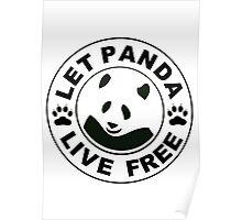 Panda reborn logo Poster