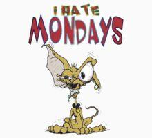 I Hate Mondays Chihuahua Kids Tee