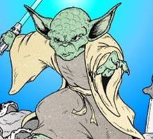 Yoda- Who's Next? Sticker