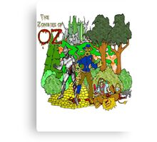 Zombies of OZ Canvas Print