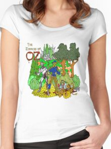 Zombies of OZ Women's Fitted Scoop T-Shirt