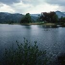 Lake Grasmere Lake District England 198405200034  by Fred Mitchell