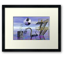 Misconception of Reality Framed Print