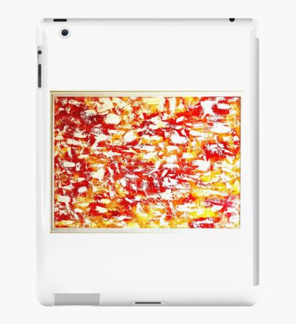 Summer's touch iPad Case/Skin