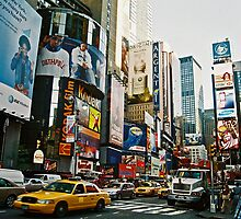times square II by kathryn sprigg